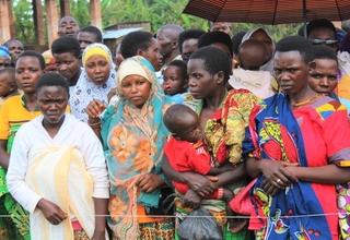 UNFPA auprès des femmes et filles sinistrées de Gashoho
