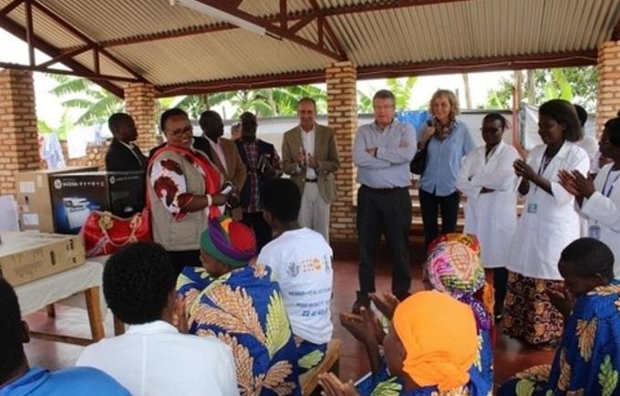 Visite Conjointe au Centre Urumuri en Province de  Gitega